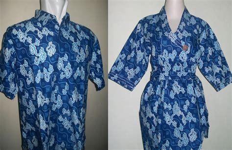 Batik Baju Sarimbit Biru batik sarimbit murah mega mendung warna biru toko batik