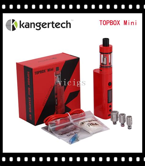 Starter Kit Kiosk 1set aliexpress buy original kanger topbox mini upgraded subox mini starter kit 75w subox mini