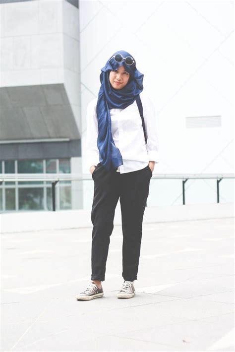 Sepatu Olahraga Style style busana olahraga untuk wanita hijabers info fashion