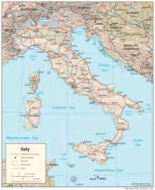 Italy Maps by Map Of Italy With Cities Map Of Italy Lib Utexas Edu