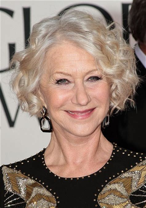 helen mirren hairstyles through the years | sophisticated
