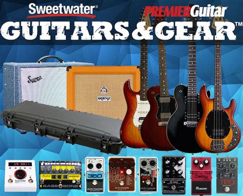 Sweetwater Sweepstakes - your chance to win strat tele and les paul guitars