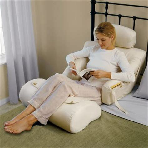 sitting bed pillow love to read or watch tv in bed then check out these back