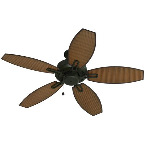 Lowes Outdoor Ceiling Fans by Shop Harbor Ocracoke 52 In Specialty Bronze Outdoor