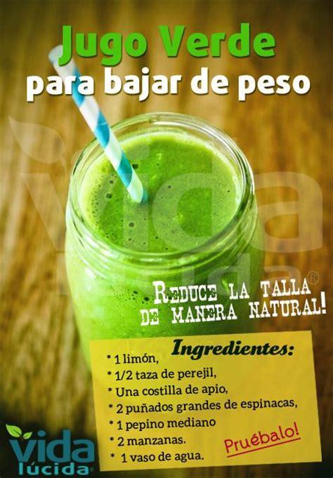 Jugos Detox Para Bajar De Peso by Jugo Verde Para Bajar De Peso Smoothies Detox And Juice