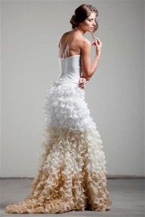 ombre wedding dresses ombre wedding dress gowns juxtapost