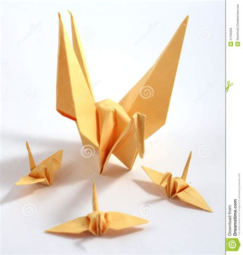 Japanese Origami Swan - origami swan royalty free stock images image 37100269