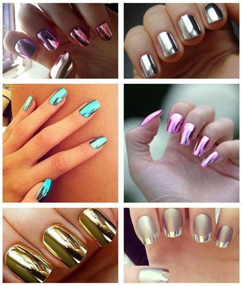 Color Metal Nail metal color nail free sles uv led metallic nail