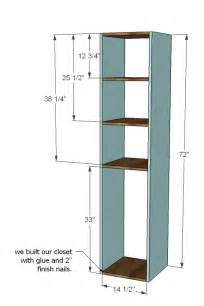 Closet Storage Plans Closet Storage Organizer Woodworking Plans Woodshop Plans