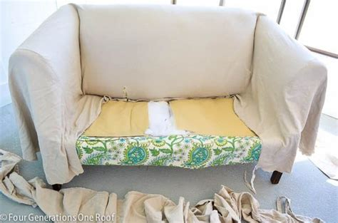 No Sew Reupholster by How To Reupholster A In Just 2 Hours No Sew Diy
