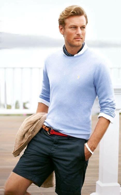mens preppy style preppy boy shorts polo sweater preppy men style