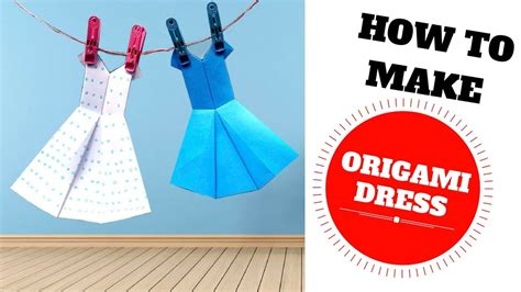 How To Make An Origami Dress - origami dress how to make origami dress origami wedding