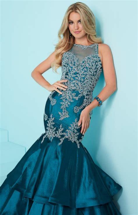 tiffany designs  open  halter lace mermaid
