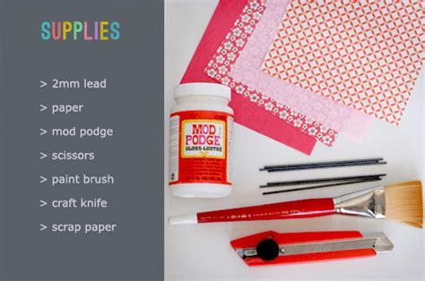 How To Make Paper Pencil - how to make paper pencils tutorial scissors paper wok
