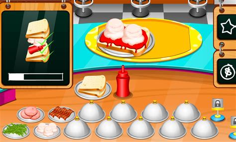 jeux de fille cuisine et patisserie gratuit en francais sandwich et vite sur jeux fille gratuit