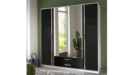 kleiderschrank schwarz mit spiegel kleiderschrank trio schrank schwarz mit spiegel hochglanz