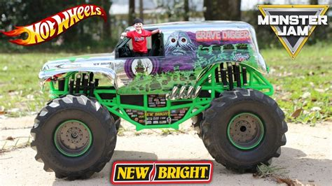 monster jam grave digger rc truck huge monster jam grave digger rc with wheels monster