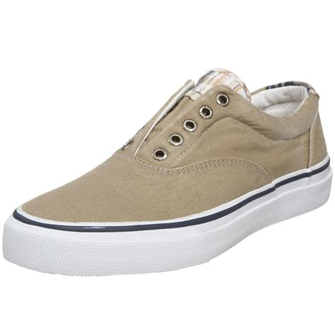 sperry sneakers mens sperry top sider sperry topsider mens striper laceless