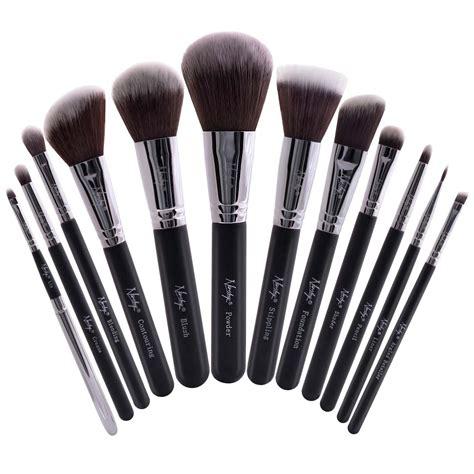 Set Of 14 Make Up Brush buy masterful collection onyx black make up brush set