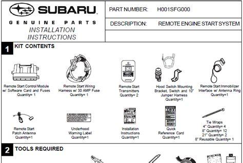 subaru remote starter wiring diagram 28 images subaru