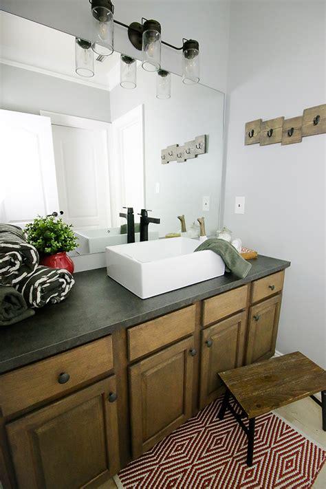 bathroom sink makeover kids bathroom sink makeover bower power bloglovin