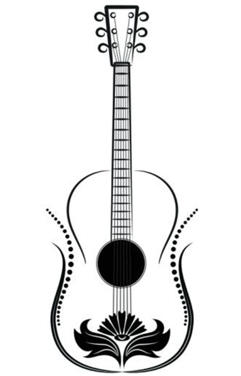 guitar pattern drawing pinterest the world s catalog of ideas