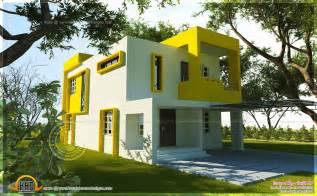 Small Modern Floor Plans Small Contemporary House Square Indian House Plans Square Contemporary Home Exterior