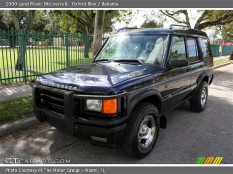 2000 land rover discovery interior oxford blue 2000 land rover discovery ii bahama