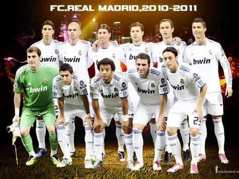 real madrid squad for 2011 2012 season turn on your