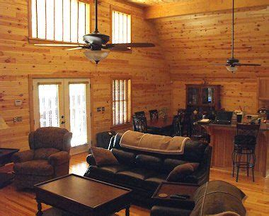 Cedar Living Room by Cabin On Knotty Pine Knotty Pine Kitchen And