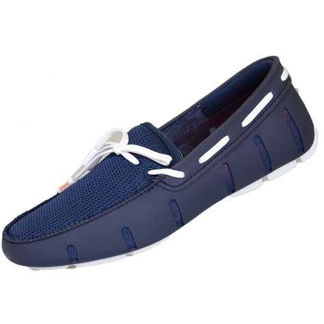 swims navy lace loafer swims lace knot navy loafer swims from n22 menswear uk