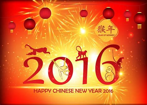 new year week year of the monkey