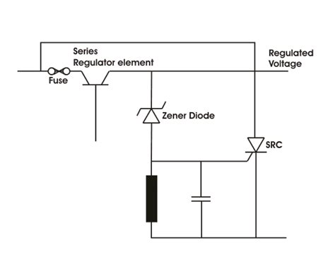 simple voltage regulator with zener diode zener diode voltage regulator electronic components