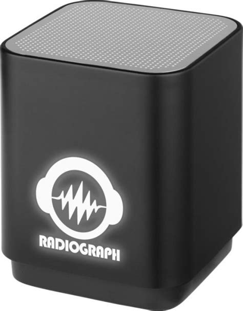 Light-up Bluetooth® speaker