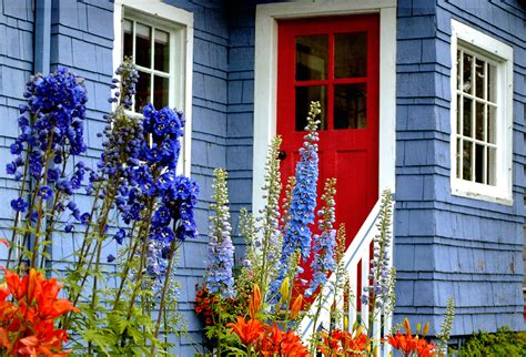blue house with red door blue house with red doors design ideas doors texture colors combinations front