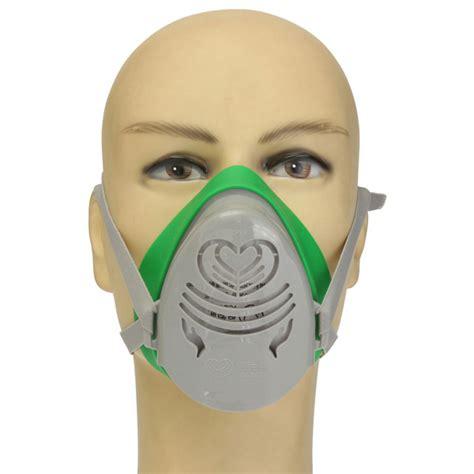 Masker Respirator Single Cartridge Half Masker Anti Polusi powercom n3800 anti dust gas mask filter paint spraying cartridge respirator sale banggood