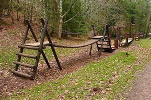 Forest Backyard Climbing Frame In Hats Wood C Graham Horn Geograph
