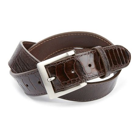 gibbons handmade leather golf belts