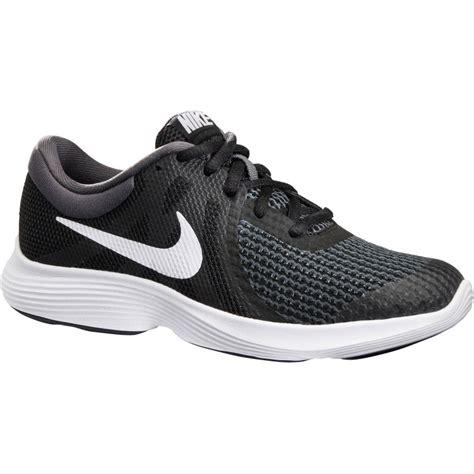 Sepatu Nike Revolution 4 Nike Revolution 4 Black White Decathlon