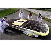 Geavanceerde Raceauto Op Zonne Energie