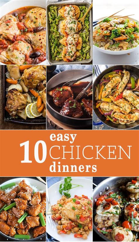 10 dinners to make at home the cookie rookie 174 10 easy chicken dinners the cookie rookie 174