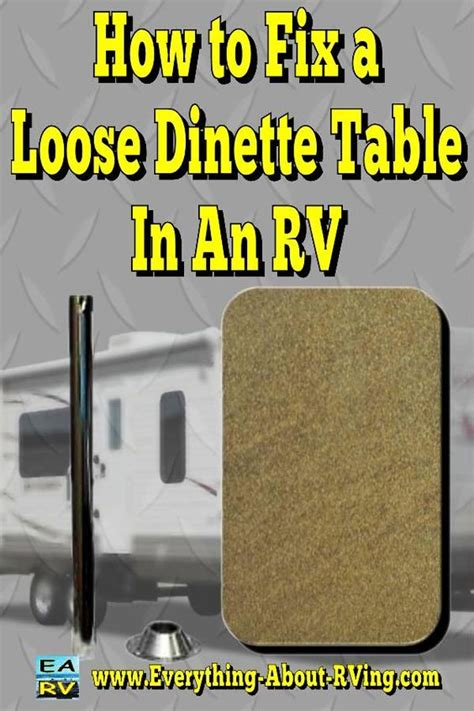 rv dinette table top replacement who knew the wonders of duct our home