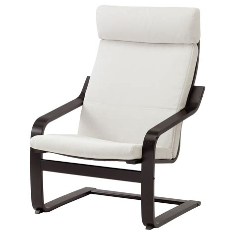 white armchair ikea po 196 ng armchair black brown finnsta white ikea