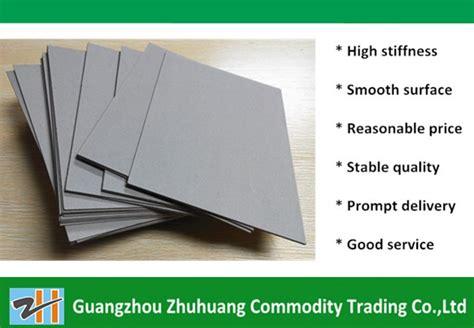 Folding Laminated Paper - laminated folding resistance 1200gsm grey cardboard paper