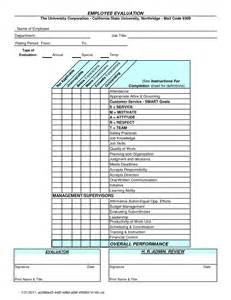 yearly employee review template best photos of annual employee evaluation template
