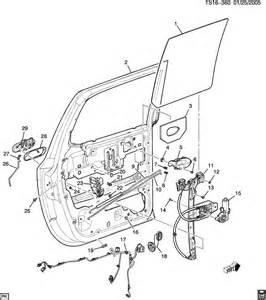Chevrolet Trailblazer Parts Chevrolet Trailblazer Door Hardware Side Rear Part 2