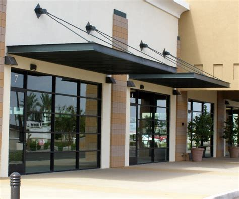 commercial aluminum awnings commercial aluminum awning rainwear