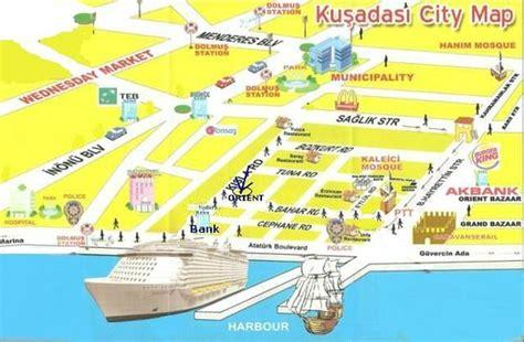 kusadasi map map for orient picture of orient bar kusadasi tripadvisor