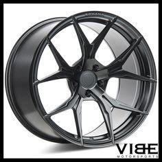 "19"" velgen vmb5 gunmetal concave wheels rims fits honda"