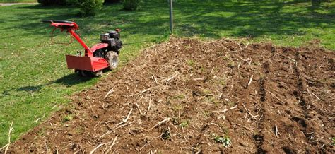motoculture jardin bien cultiver le sol ooreka